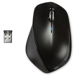 HP Wireless Mouse X4500 - black Metal - H2W26AA#ABB - 1140072