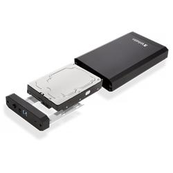 "VERBATIM CAIXA DISCO 3.5"" ENCLOSURE KIT STORE & SAVE USB 3.0 - 8100062"