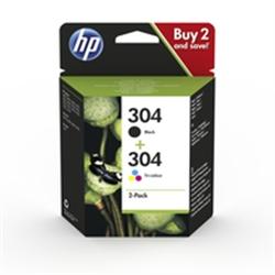 HP 304 Ink Cartridge Combo 2-Pack -  3JB05AE - 1702026