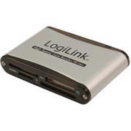 LOGILINK USB 2.0 ALUMINUM CARD READER - 1110002