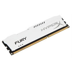 DDR3 HyperX 8GB 1866Mhz CL10 FURY White Series HX318C10FW/8 - 1031003