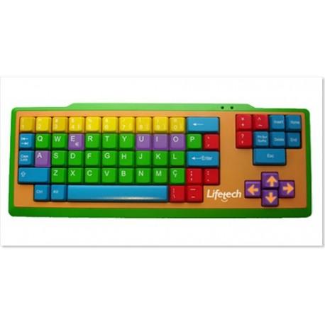 Lifetech Teclado Kids Keyboard USB (LFKEY031)