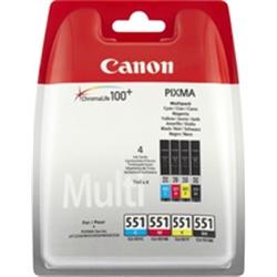 CANON Pack Papel + tinteiros 6508B006 - 2600405