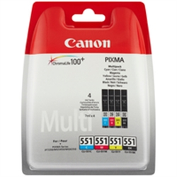 CANON Pack Papel + tinteiros 2933B011 - 2600406