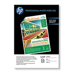 HP Professional Glossy Laser Photo Paper 200 CG966A - 2600102