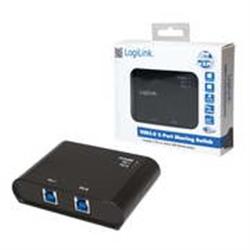 LogiLink SWITCH 2X PORTAS USB TIPO B 3.0 P UA0216 - 1370500