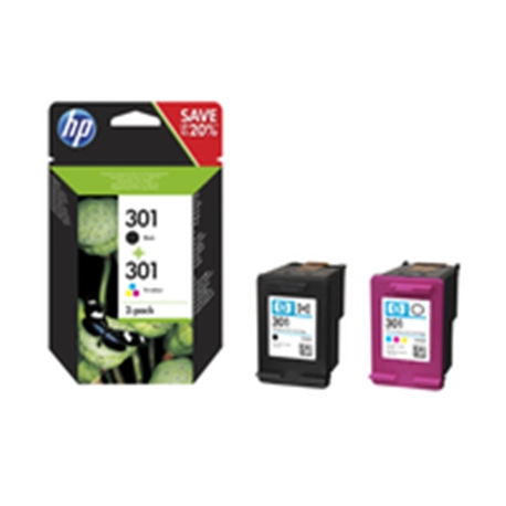 HP 301 Ink Cartridge Combo 2-Pack - 1702672