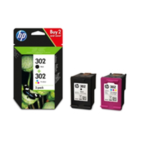 HP 302 Ink Cartridge Combo 2-Pack - 1702673