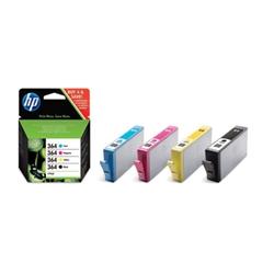 HP 364 Combo-pack Cyan/Magenta/Yellow/Black Ink Cartridges - 1700661