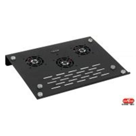 Base ventilação para portátil alumínio 3 ventoínhas com Hubs - 4100020