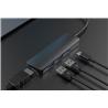 DEVIA Adaptador Leopard USB-C para HDMI/2xUSB/PD - 1351448