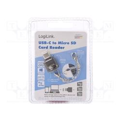 LOGILINK Leitor de cartões SDHC Micro,SD Micro, SD XC Micro - 5700001