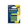 VARTA Pilhas Recarregáveis AAA 800 mAh 4 UNIDS HR03 - 1710007