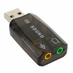Placa de Som 5.1 USB a 2.0 - 1150306