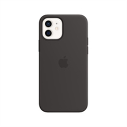 APPLE iPhone 12 | 12 Pro Silicone Case with MagSafe - Black - 2110001