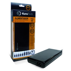 EUROTECH Alimentador Ultra Slim Universal 190g 90W - 1852101