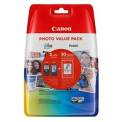 CANON PG-540XL/CL-541XL Black & XL Colour +GP-501 50-folhas - 1703201