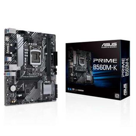 ASUS PRIME B560M-K, 2DDR4, DSUB/HDMI, RGB - 1042003