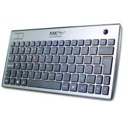 MKPLUS Teclado Media Center Elite Slim Wireless