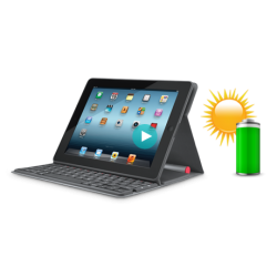 Logitech Solar Keyboard Folio for iPad (920-004379)