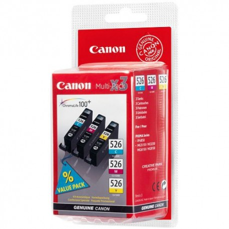 CANON Multipack CLI-526 (C/M/Y)