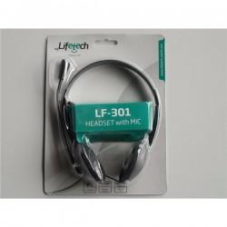 Lifetech Auscultadores e Microfone LF-301 (LFHEA015)