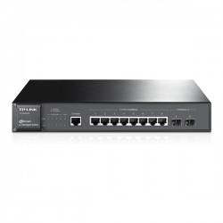 TP-LINK T2500G-10TS 8 Portas Gigabit + 2 SFP Managed L2