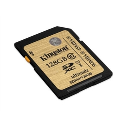 Kingston 128GB SDHC Class 10 UHS-I Ultimate - 8000204