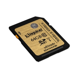 Kingston 64GB SDHC Class 10 UHS-I Ultimate - 8000203