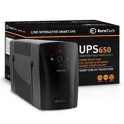 EuroTech Smart UPS  650 VA /  390W - UPS650EU - 1380186