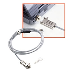 LINDY Notebook Security Cable Multipurpose Combination Lock - 1390121