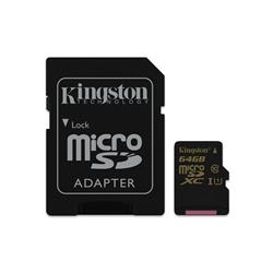 Kingston 64GB MicroSD Class 10 UHS-I - 8000206