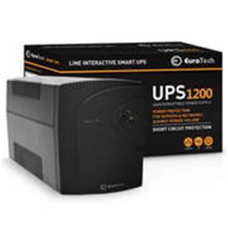 Eurotech Smart UPS 1200VA / 730W - UPS1200EU - 1380190