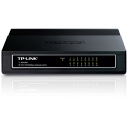 TP-LINK TL-SF1016D Switch 16 Portas 10/100 - 1330433