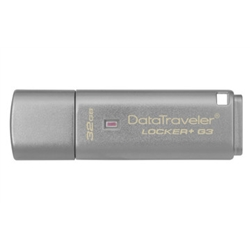KINGSTON 32GB USB 3.0 DT Locker+ G3 w/Automatic Data S. - 8200216