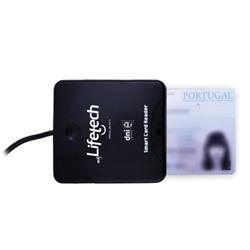 Lifetech Leitor Cartao Cidadao USB2.0 cabo comprido LFCRD007 - 5700019