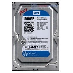 """Western Digital HDD 500GB Blue 3.5"""" SATA 6 Gb/s 7200 rpm - 1101062"""