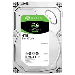 "Seagate HDD 4TB Barracuda 3.5"" SATA 6 Gb/s 64mb Cache - 1101055"
