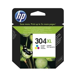 HP 304XL Tri-color Ink Cartridge - N9K07AE#ABE - 1701236