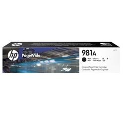 HP 981A Black Original PageWide Cartridge - 1701265