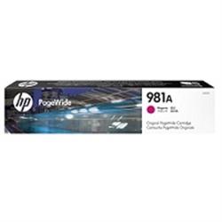 HP 981A Magenta Original PageWide Cartridge - 1701287