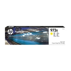 HP 973X High Yield Yellow Original PageWide Cartridge - 1701285