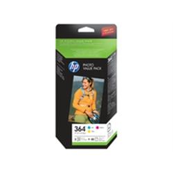 HP 364 Series Photosmart Photo Value Pack 50 sheets 10x15cm - 1701298