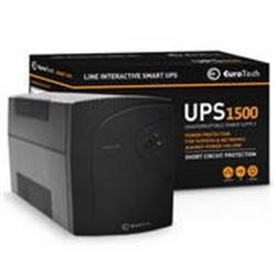 Eurotech Smart UPS 1500VA / 900W - UPS1500EU - 1380294