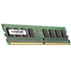 CRUCIAL 2048MB DDR2 667 1X240 DIMM CL5 CRUCIAL 1.8V - 1030787
