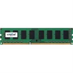 CRUCIAL 2048MB DDR3 1600 1X240 UDIMM CL11 CRUCIAL 1.35V SR - 1030781