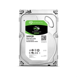 "Seagate HDD 500GB Barracuda 3.5"" SATA 6 Gb/s 7200 rpm 64mb - 1101042"