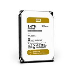 "Western Digital HDD 8TB Datacentre Gold 128mb cache SATA 6g"" - 1101109"