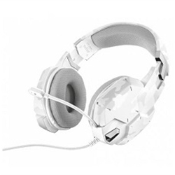 TRUST GXT 322W Gaming Headset - White camouflage - 7200129