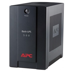 APC Back-UPS 500VA,AVR, IEC outlets, EU Medium - 1380277